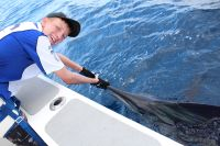 James Rayment with Marlin