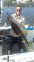 Ron Camp with Flathead